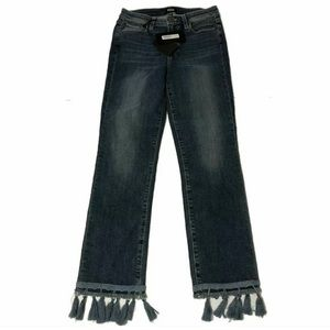 Paige Jacqueline Straight High Rise Crop Jeans